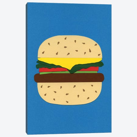 Veggieburger Canvas Print #RFE114} by Rosi Feist Canvas Artwork
