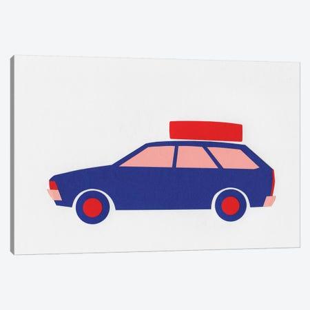 Volkswagen Passat B1 Kombi Canvas Print #RFE115} by Rosi Feist Canvas Wall Art