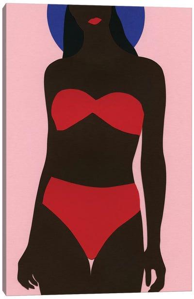 Women On The Beach Canvas Art Print
