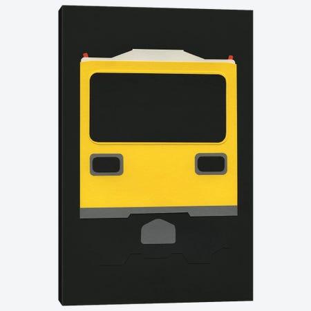 Berlin Subway Car GI E1 Canvas Print #RFE11} by Rosi Feist Canvas Print