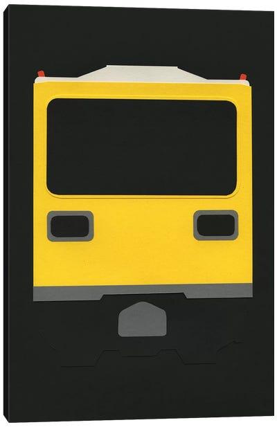 Berlin Subway Car GI E1 Canvas Art Print