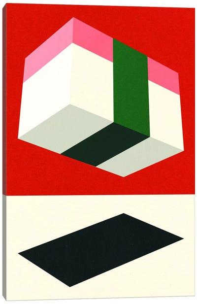 Flying Nigiri Canvas Art Print