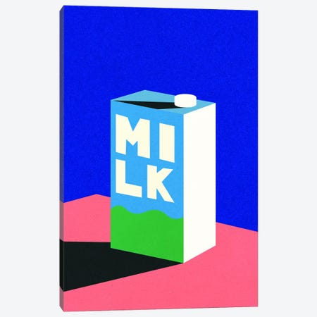 Milk Canvas Print #RFE127} by Rosi Feist Canvas Print