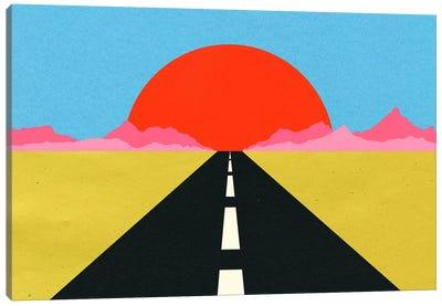 Road To Sun Canvas Art Print