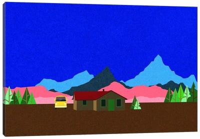 Sierra Nevada Mountain Hut Canvas Art Print