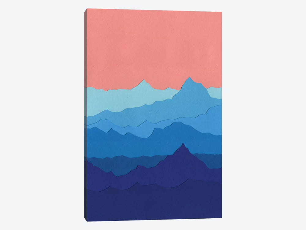 Blue Mountains by Rosi Feist 1-piece Art Print