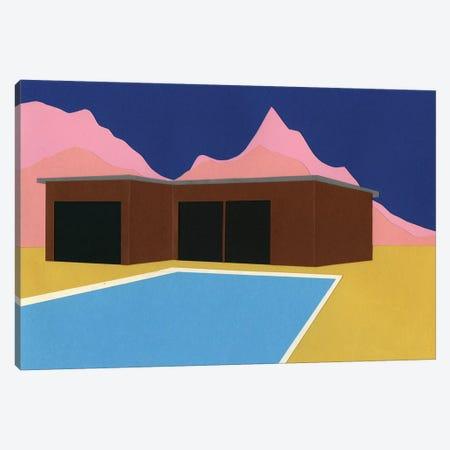 California Summer House Canvas Print #RFE15} by Rosi Feist Canvas Artwork