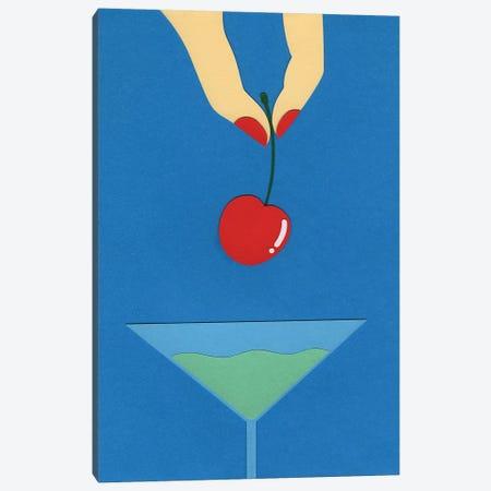 Cherry Nails I Canvas Print #RFE16} by Rosi Feist Canvas Art