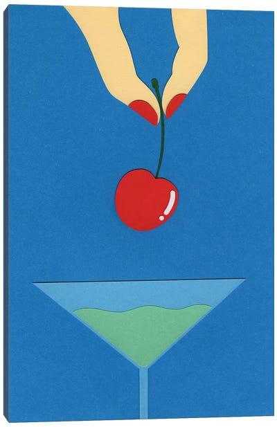Cherry Nails I Canvas Art Print