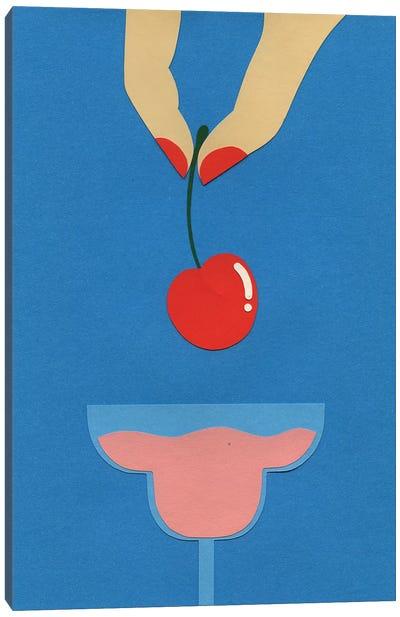 Cherry Nails II Canvas Art Print