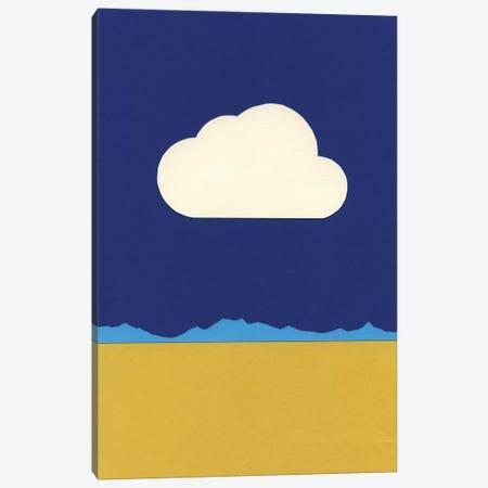 Cloud Over The Desert 3-Piece Canvas #RFE18} by Rosi Feist Art Print