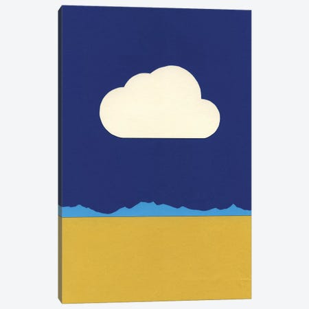 Cloud Over The Desert Canvas Print #RFE18} by Rosi Feist Art Print