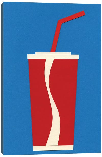 Cup of Coke Canvas Art Print