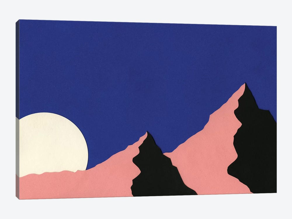 Death Valley Moon I by Rosi Feist 1-piece Canvas Artwork