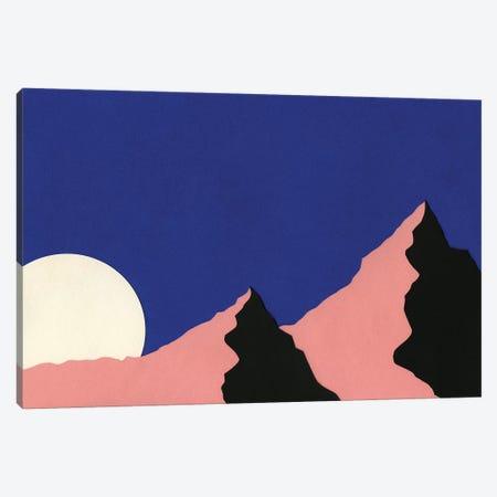 Death Valley Moon I Canvas Print #RFE25} by Rosi Feist Canvas Art Print