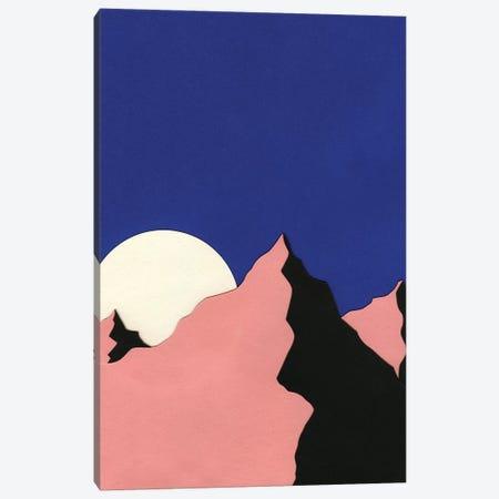 Death Valley Moon II Canvas Print #RFE26} by Rosi Feist Art Print