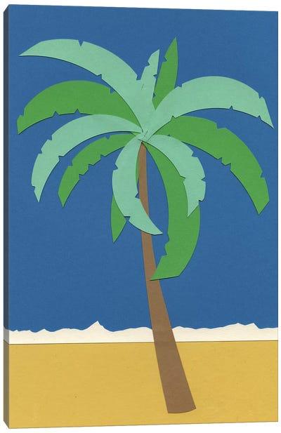 Desert Palm Canvas Art Print