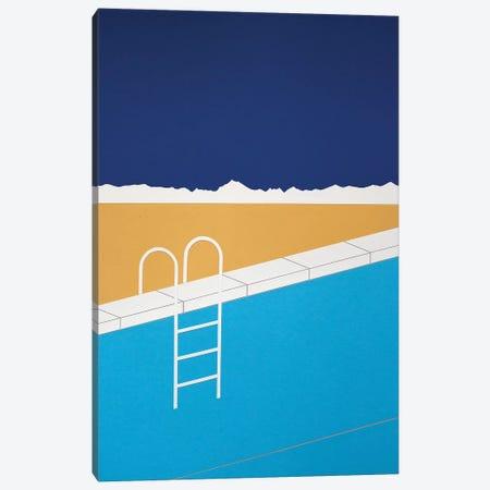 Desert Pool Canvas Print #RFE30} by Rosi Feist Canvas Print