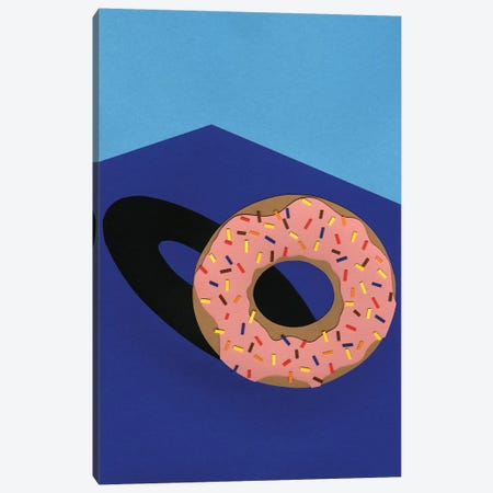 Donut In The Sun 3-Piece Canvas #RFE32} by Rosi Feist Canvas Print