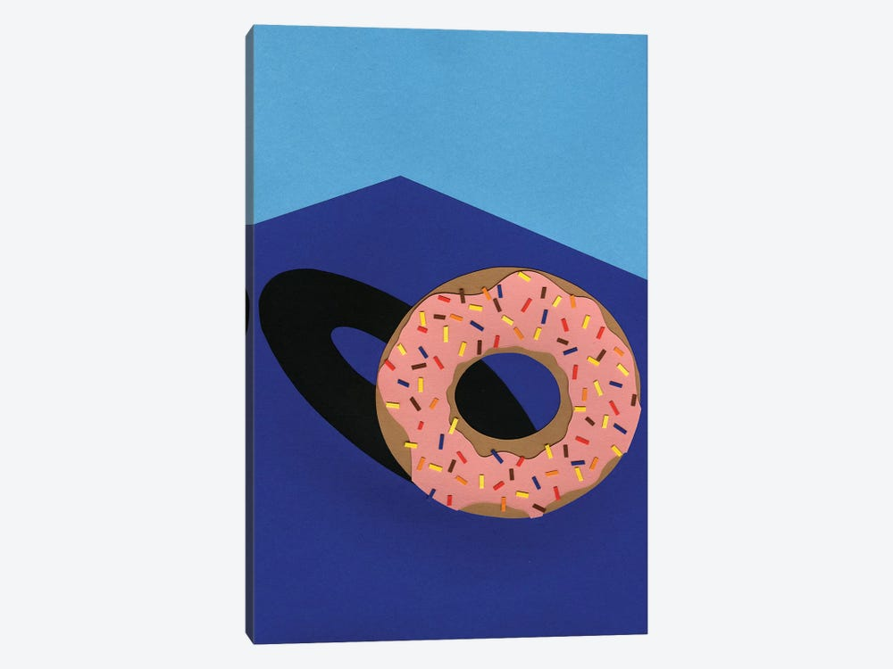 Donut In The Sun by Rosi Feist 1-piece Canvas Wall Art