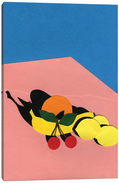 Fruits On The Table Canvas Art Print