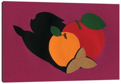 Apple Apricot Almond Canvas Art Print