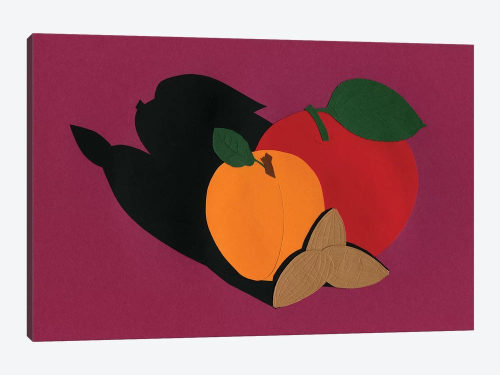 Apple Apricot Almond by Rosi Feist 1-piece Canvas Wall Art