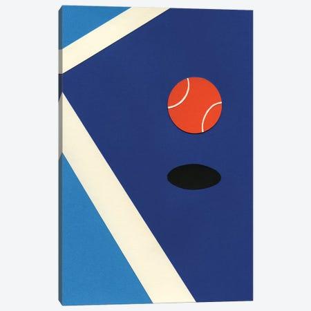 Jumping Tennis Ball Canvas Print #RFE53} by Rosi Feist Canvas Art Print