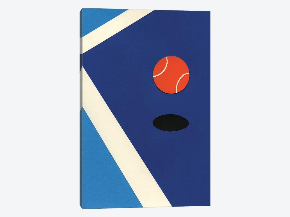 Jumping Tennis Ball by Rosi Feist 1-piece Art Print