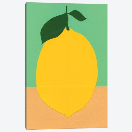 Lemon Canvas Print #RFE57} by Rosi Feist Canvas Art