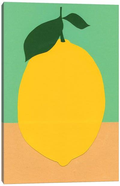 Lemon Canvas Art Print