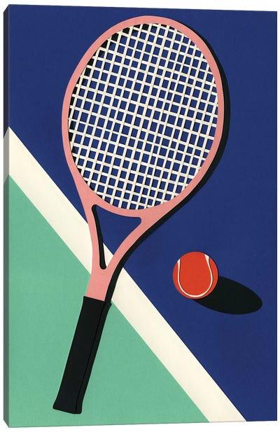 Malibu Tennis Club Canvas Art Print