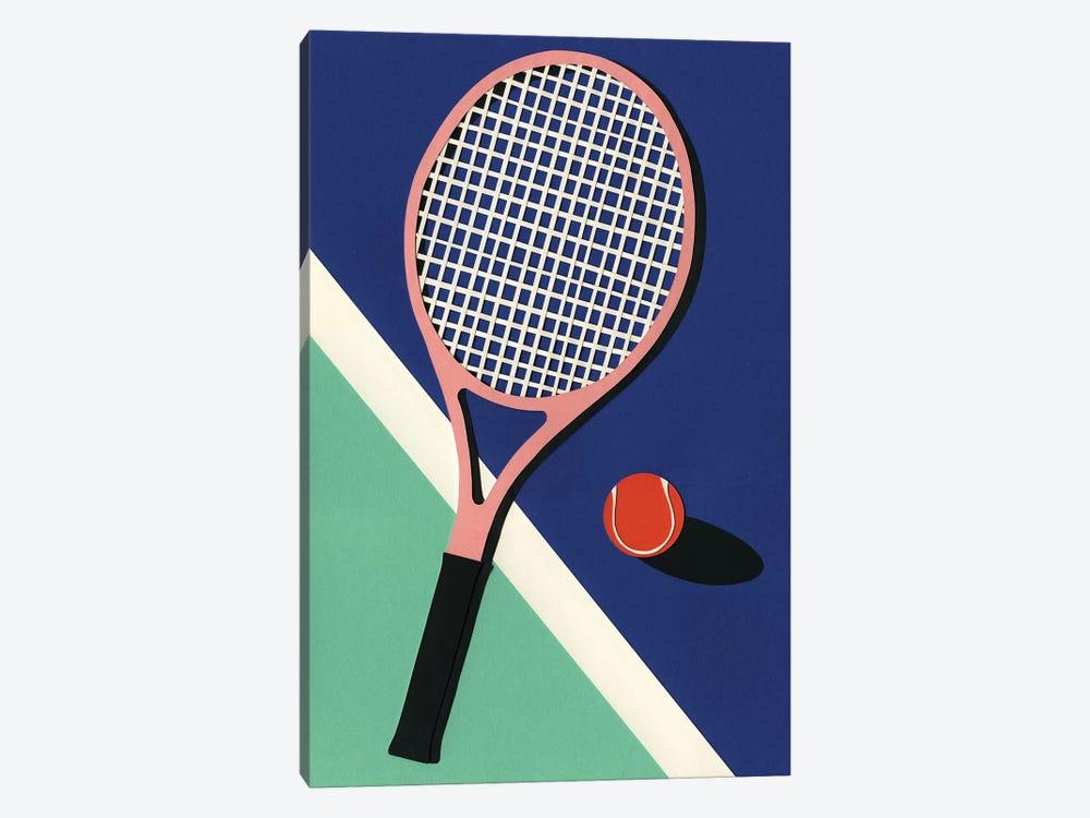 Malibu Tennis Club by Rosi Feist 1-piece Canvas Print