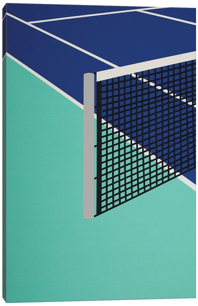 Arizona Tennis Club I Canvas Art Print