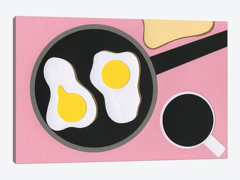 Mr. D'z Breakfast by Rosi Feist 1-piece Art Print