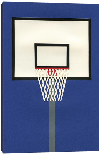Oakland Basketball Team III Canvas Art Print