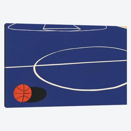 Oakland Basketball Team II Canvas Print #RFE69} by Rosi Feist Canvas Wall Art