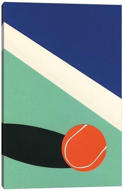 Arizona Tennis Club II Canvas Art Print