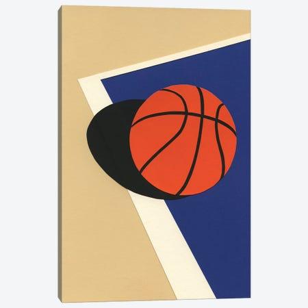 Oakland Basketball Team I Canvas Print #RFE70} by Rosi Feist Art Print