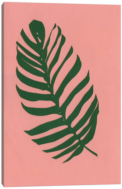 Philodendron Canvas Art Print