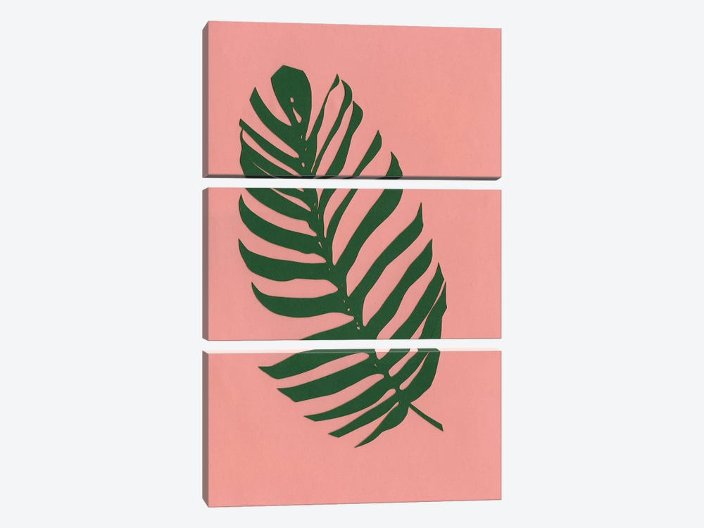 Philodendron by Rosi Feist 3-piece Canvas Art Print