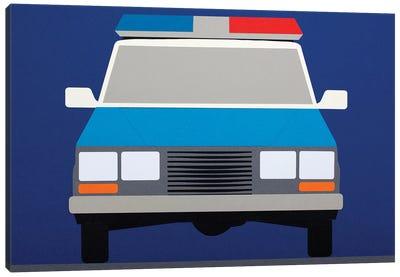 Police Car 1988 Canvas Art Print