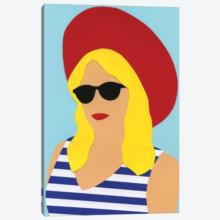 Portrait Of Marli Canvas Print #RFE81} by Rosi Feist Canvas Wall Art