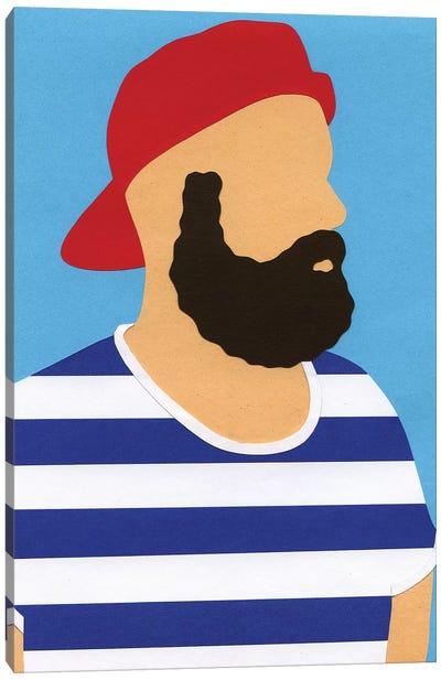 Rosi Feist Selfportrait Canvas Art Print