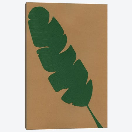 Banana Leaf Canvas Print #RFE8} by Rosi Feist Canvas Art