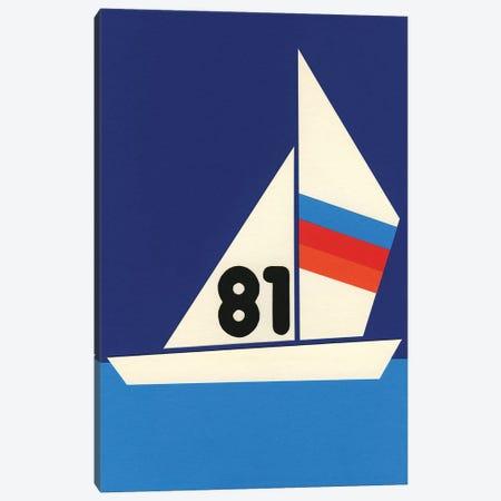 Sailing Regatta 81 Canvas Print #RFE90} by Rosi Feist Canvas Art Print