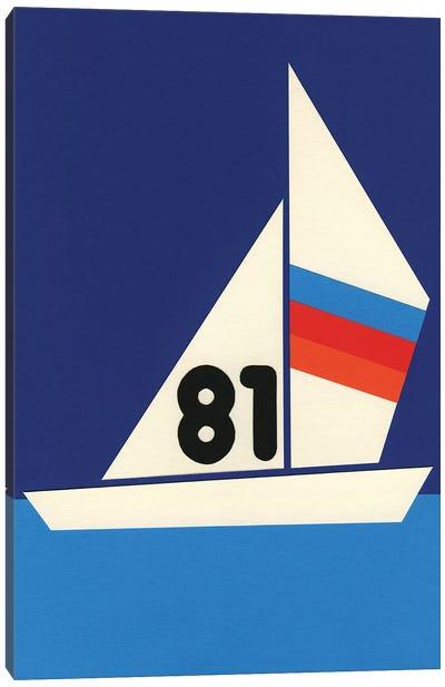 Sailing Regatta 81 Canvas Art Print