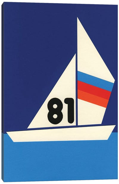 Sailing Regatta 81 Canvas Art Print