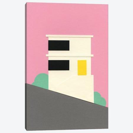 San Francisco Hill House Canvas Print #RFE91} by Rosi Feist Canvas Art Print