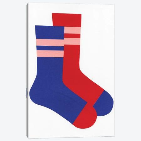 Socks 3-Piece Canvas #RFE95} by Rosi Feist Canvas Art